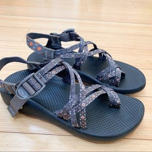 CHACO gray ZX/2 classic sandals, women's 9.